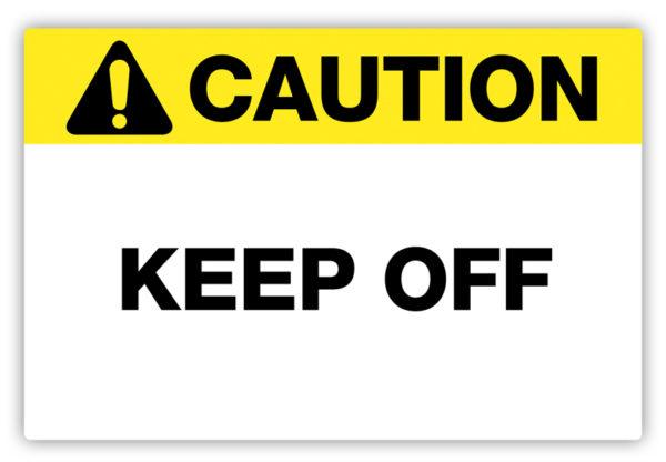 Caution – Keep Off Label