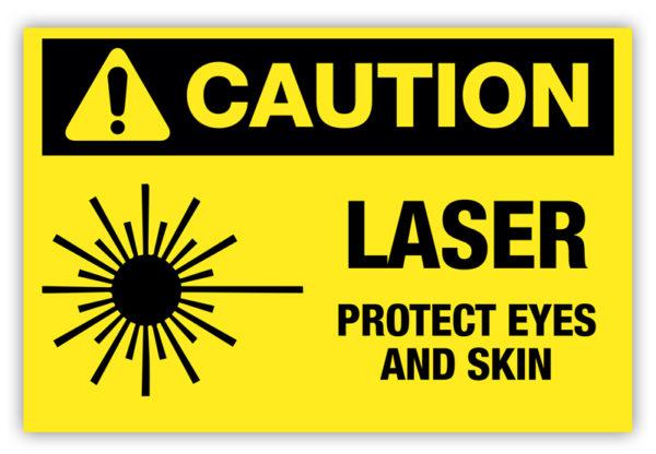 Caution – Laser Label