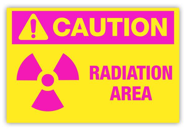 Caution – Radiation Area Label