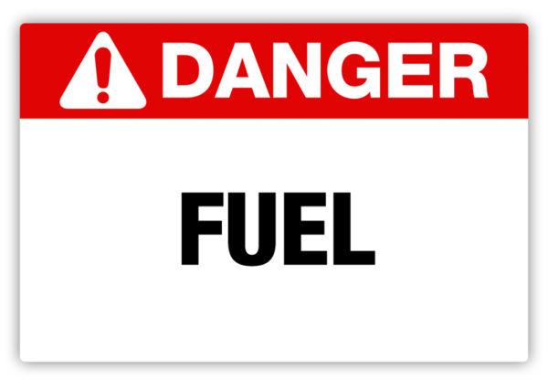 Danger – Fuel Label