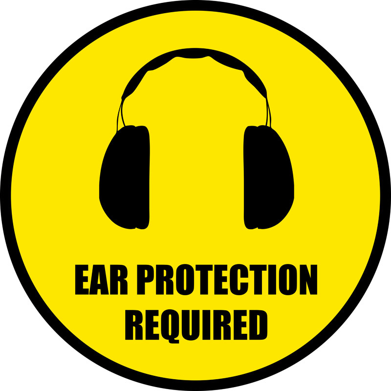 Ear Protection Required Phs Safety
