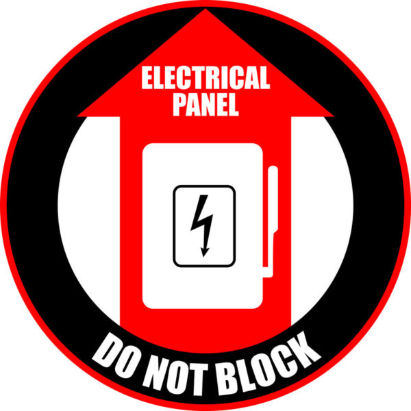 Elec. Panel – Do Not Block