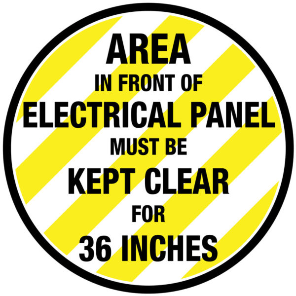 Electrical Panel – 36 Inches