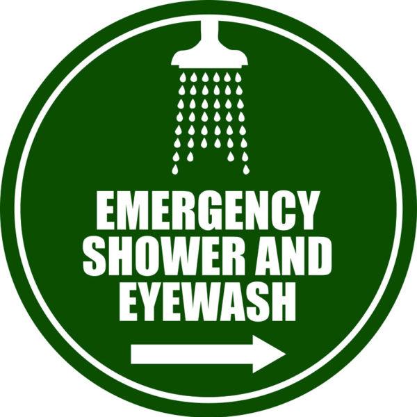 Emergency Shower/Eyewash – R Arrow