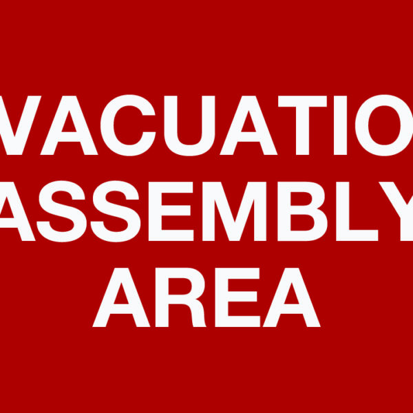 Evacuation Assembly Area Wall Phs Safety