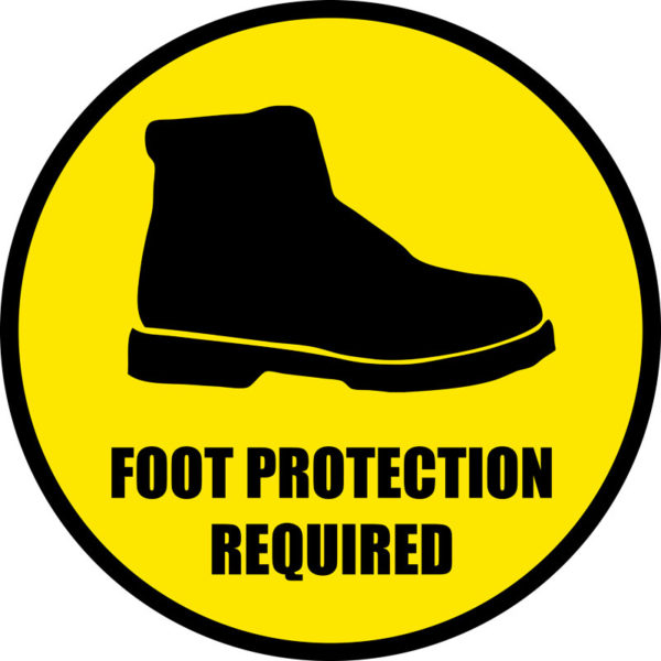 Foot Protection Required