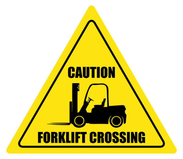 Forklift Crossing – Caution