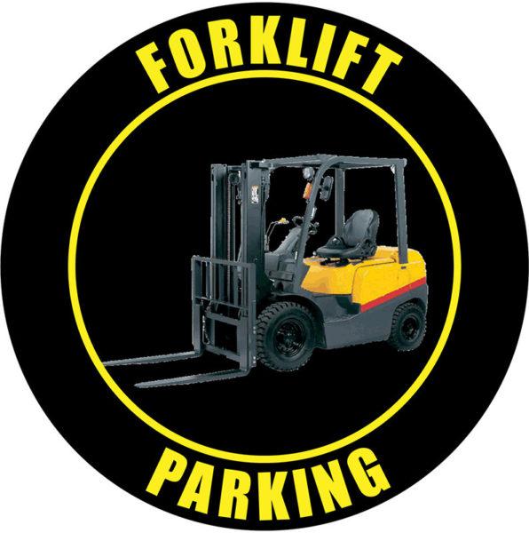 Forklift Parking – Black