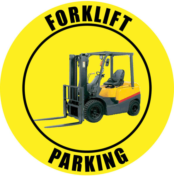 Forklift Parking – Yellow