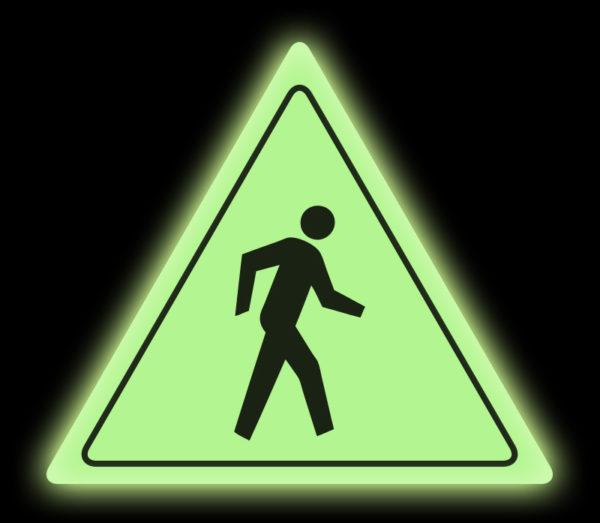 Glow: Yield Pedestrian