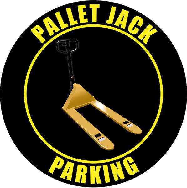 Pallet Jack Parking – Black