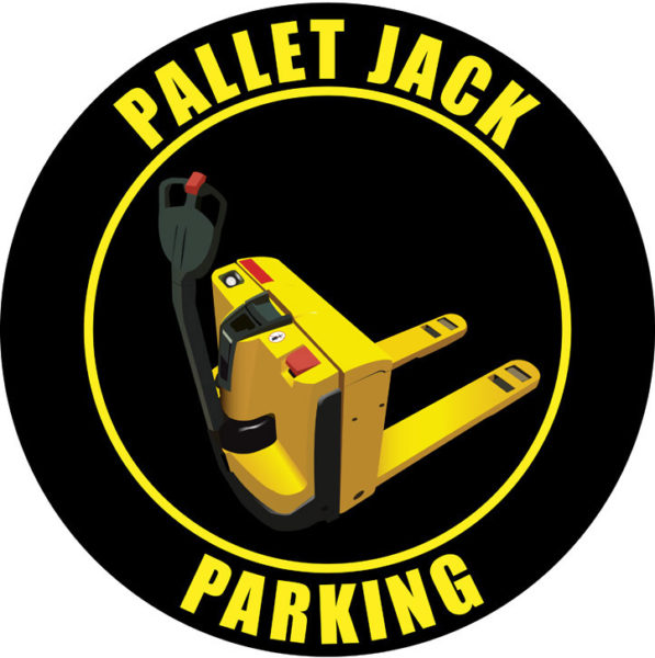 Pallet Jack Parking – Elec. – Black
