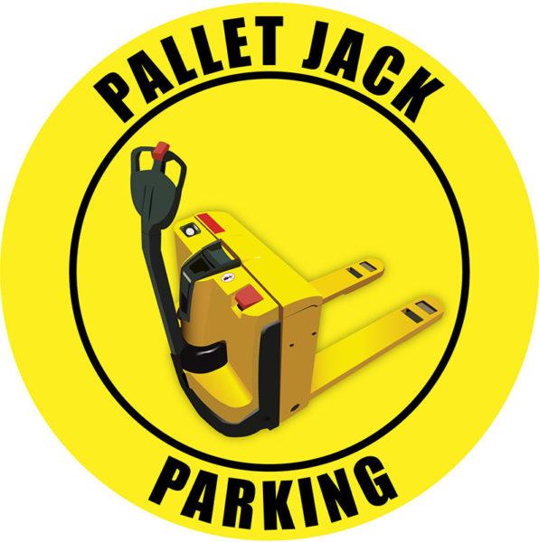 Pallet Jack Parking – Elec. – Yellow