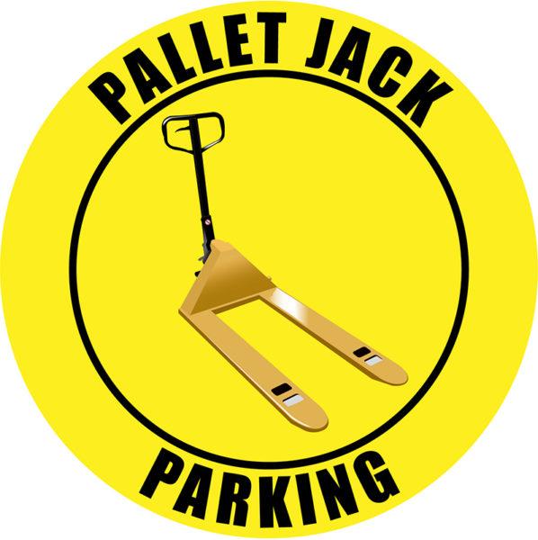 Pallet Jack Parking – Yellow