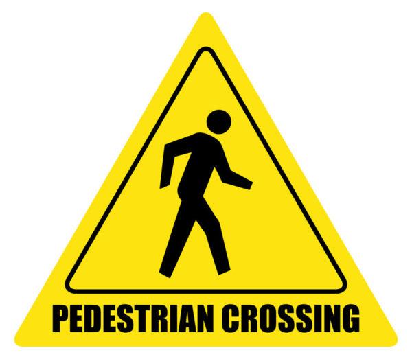 Pedestrian Crossing – Sign