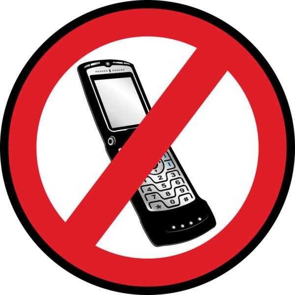 Phones Prohibited