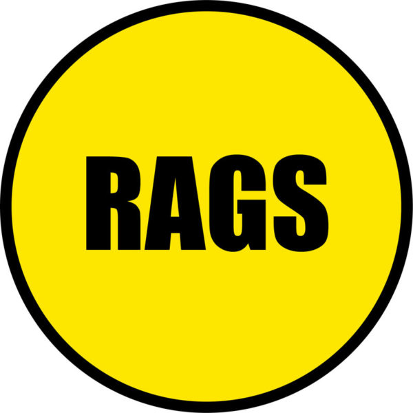 Rags Sign