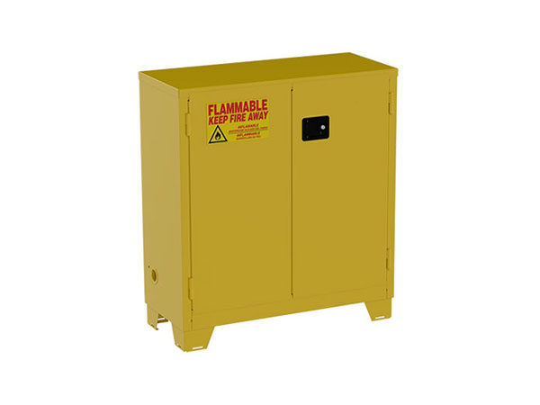 Forkliftable Safety Cabinets For Flammables (Manual Close)